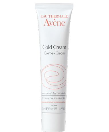Cream with cold cream
