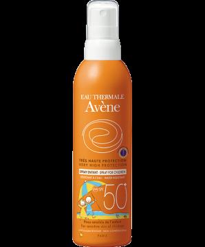 Spray SPF 50+ voor kinderen