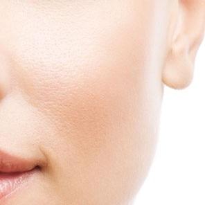 Gemengde huid