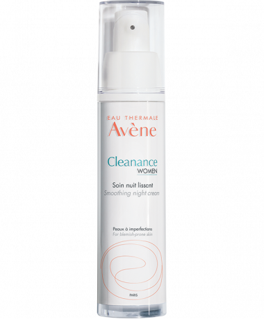 Cleanance WOMEN Gladstrijkende nachtverzorging