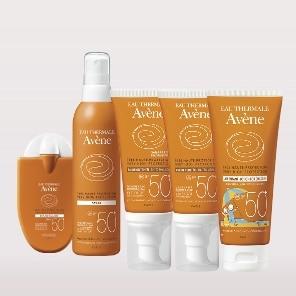 Zonneproducten Gevoelige huid