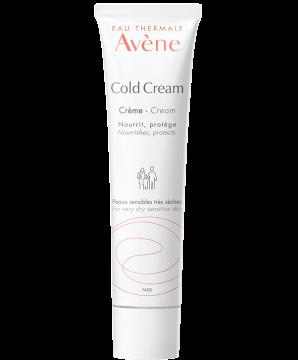 Cream with cold cream