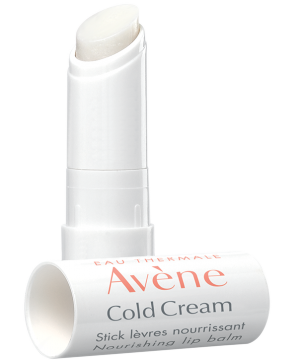 Lip balm with cold cream