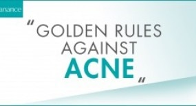 Golden Rules against acne