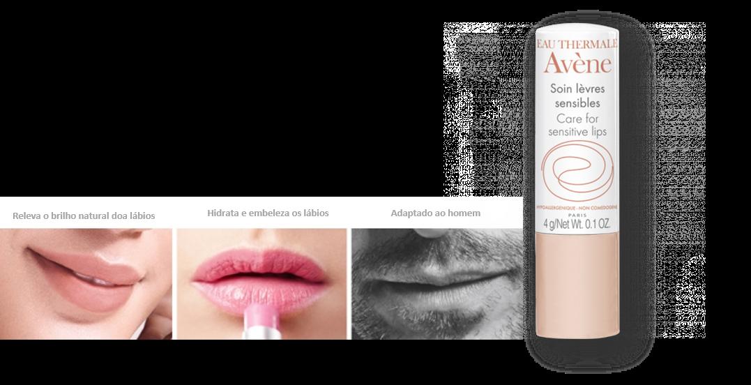 NOVIDADE - Stick Lábios Sensíveis