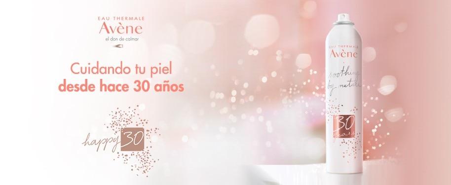 #Happy30 - 30 AÑOS DE CALMAR LA PIEL CON EAU THERMALE AVÈNE