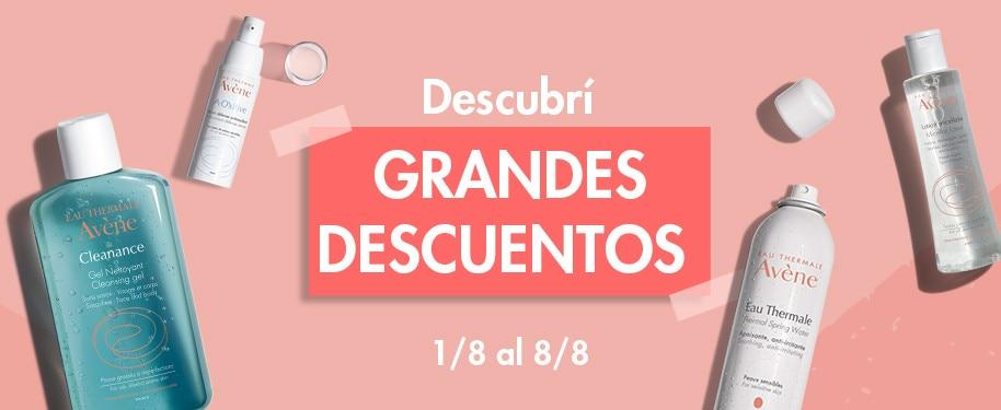 DISFRUTÁ LOS GRANDES DESCUENTOS DE AGOSTO
