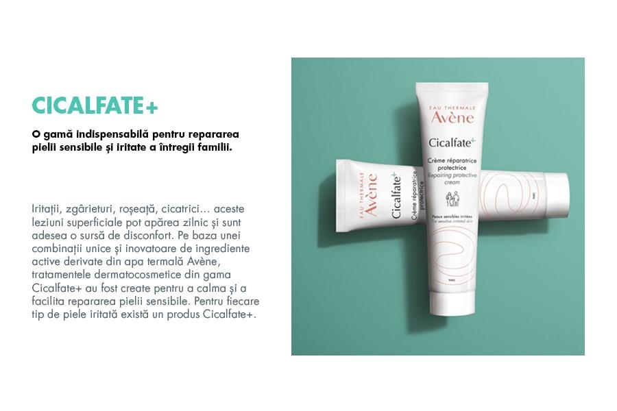 O gamă indispensabilă pentru repararea pielii sensibile și iritate a întregii familii.
