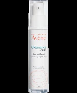 Cleanance Women Cremă de noapte cu efect de netezire - anti-imperfecțiuni