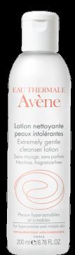 Lotion nettoyante pour peaux intolérantes