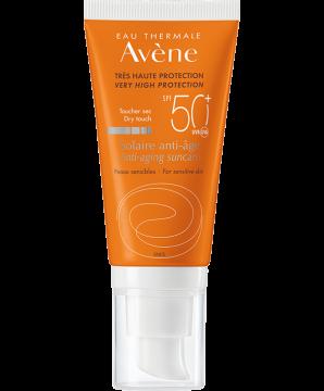 Солнцезащитный антивозрастной крем SPF50+