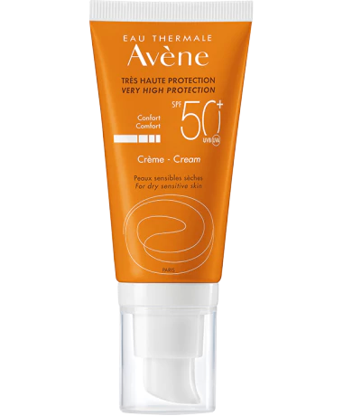 Солнцезащитный крем SPF50+ без отдушек