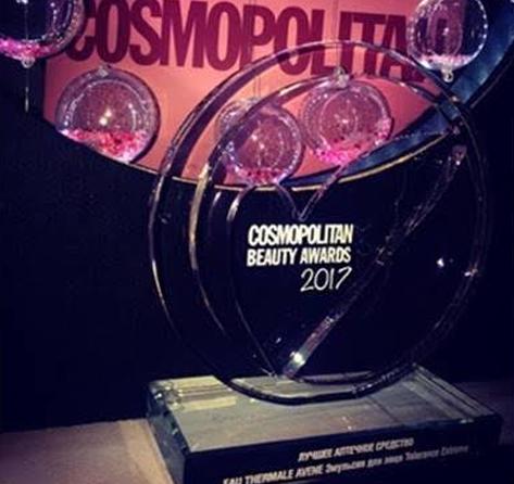 Продукция Avene получила награду Cosmopolitan