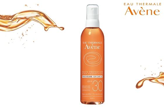 Солнцезащитное масло с SPF 30 от Eau Thermale Avène