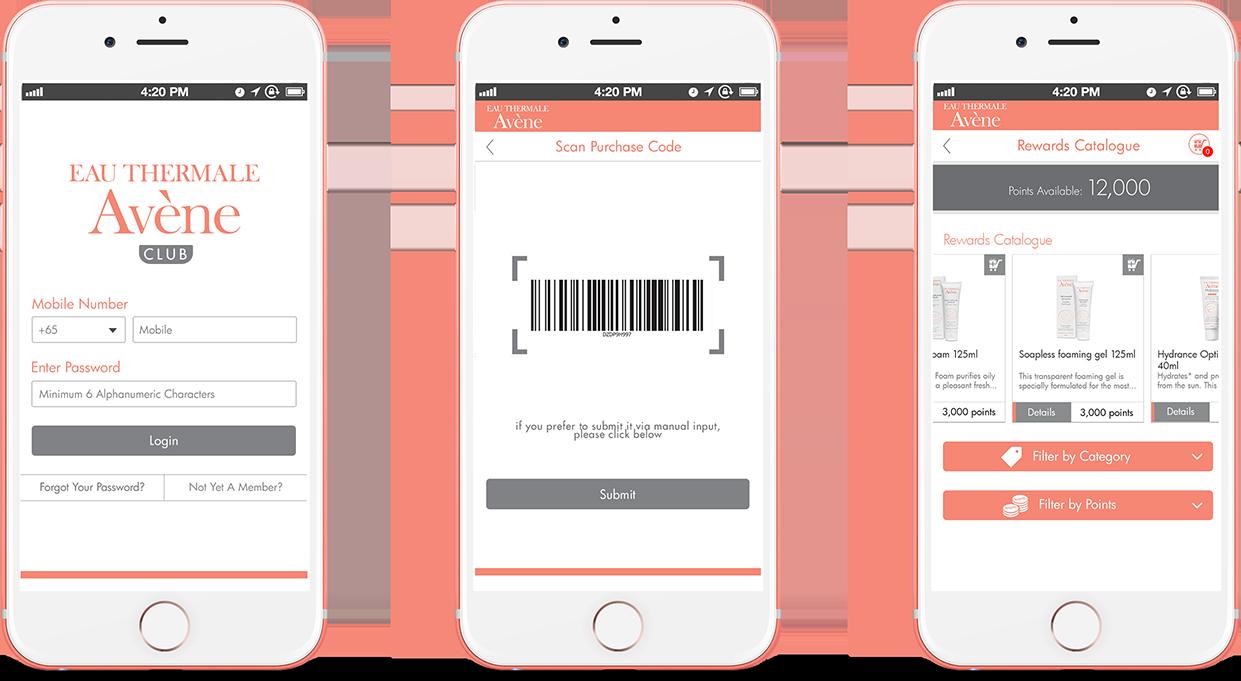 App registering step by step