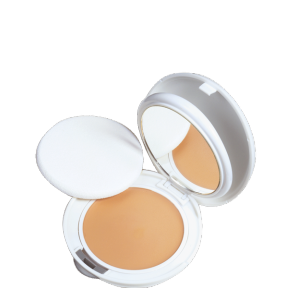 Compact foundation creams, Oil-free texture