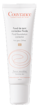 Fluid foundation correctors