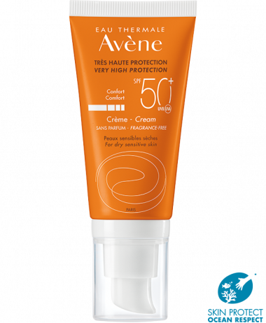 Avene SPF50+ fragrance free cream