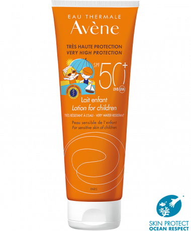 Avene SPF50+ lotion for children