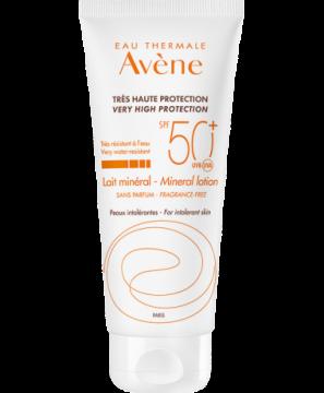 Eau Thermale Avène - Mineralno mleko za zaščito pred soncem SPF 50+