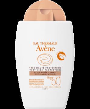 Eau Thermale Avène Toniran mineralni fluid za zaščito pred soncem SPF 50+
