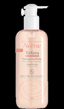 TriXera NUTRITION Nutri-fluid za čiščenje kože