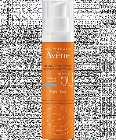 Eau Thermale Avène - Fluid za zaščito pred soncem SPF 50+