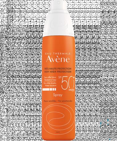 Eau Thermale Avène - Pršilo za zaščito pred soncem SPF 50+