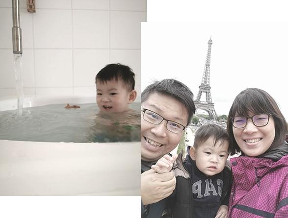 李小弟弟及媽媽
