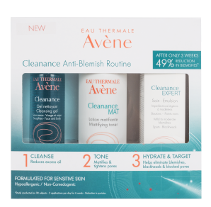 Cleanance Anti-Blemish Kit (with toner)