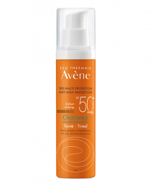 Cleanance Tinted Suncare SPF50