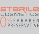 Sterile costmetics for very sensitive skin types