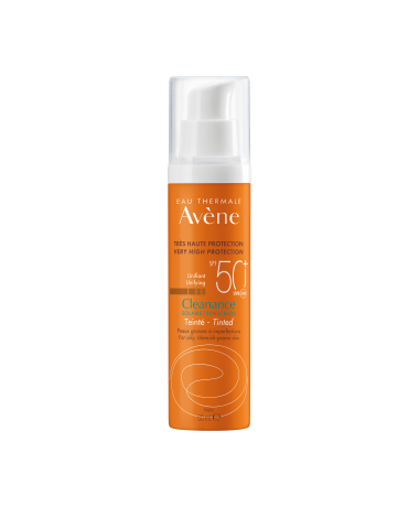 Cleanance Tinted SPF50+ Sun Cream for Blemish-prone Skin