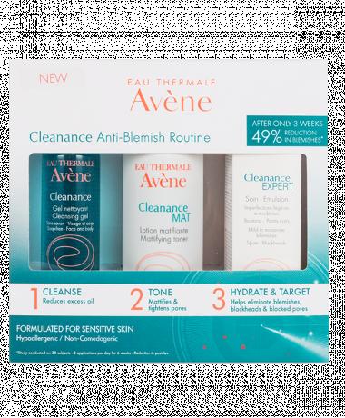 Cleanance Anti-blemish kit side