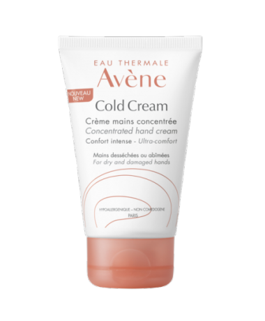 Hand cream with cold cream
