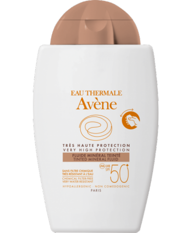tinted mineral fluid spf50