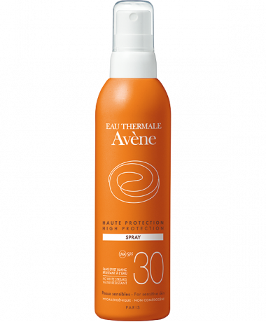 High protection spray SPF 30+