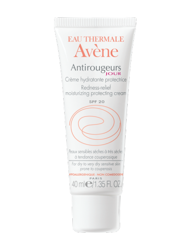 Crème hydratante protectrice Antirougeurs Jour