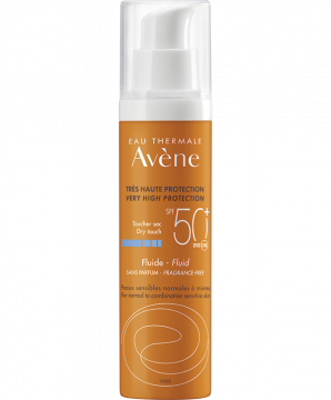 SPF 50+ Fragrance-free Fluid