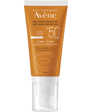 SPF 50+ Fragrance free cream