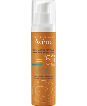 Eau Thermale Avene Cleanance SPF50+ sunscreen