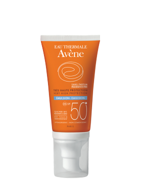 SPF 50+ Fragrance-free emulsion