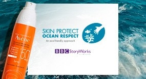 Skin Protect, Ocean Respect. A Key Commitment