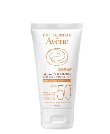 Solaire crème minérale Spf 50+